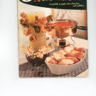 Vintage Good Housekeepings Appetizer Book Cookbook