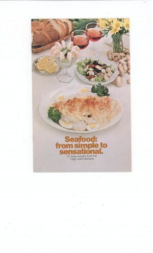 Seafood From Simple To Sensational Cookbook by High Liner Kitchens