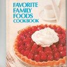 Criscos Favorite Family Foods Cookbook Vintage