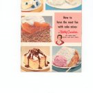 How To Have The Most Fun With Cake Mixes Cookbook Vintage by Betty Crocker