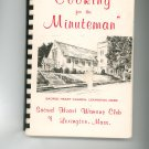 Cooking For The Minuteman Cookbook Church Regional Massachusetts