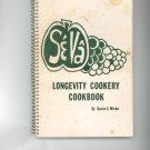Se Va Longevity Cookery Cookbook by Karin S. Misko Vintage First Printing