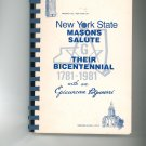 New York State Masons Salute Their Bicentennial With An Epicurean Potpourri Cookbook Regional