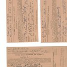 Lot Of 7 Vintage United Steelworkers Of America Union Forms