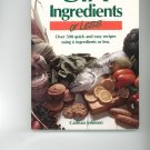 Six Ingredients Or Less Cookbook by Carlean Johnson 0942878019