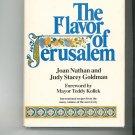 The Flavor Of Jerusalem Cookbook by Joan Nathan & Judy Stacey Goldman 0316598437 Vintage