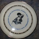 Souvenir Ashtray Rochester Italian Invitational Charity Golf Tournament Vintage
