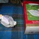 Hallmark Keepsake Ornament New Millennium Baby Complete With Box