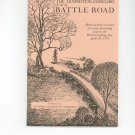 The Lexington Concord Battle Road Plus Map by Concord Chamber Of Commerce