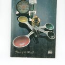 Kitchen Guide Foods Of The World by Time Life Books Vintage Item