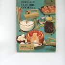 Sunbeam Vista Portable Electric Cookery Cookbook and Users Guide by Bonnie Brown Vintage