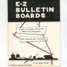 E-Z Bulletin Boards by Anne Douglas Weselah