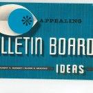 Appealing Bulletin Board Ideas by Robert Burget & Elinor Meadows