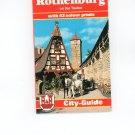 Rothenburg On The Tauber City Guide With Colour Prints And Map