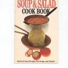 Pillsburys Soup & Salad Cook Book Cookbook Vintage