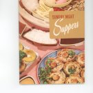 Sunday Night Suppers Cookbook by Culinary Arts Institute Vintage Item