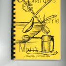 Marge's Merrie Mixins Cookbook by Marguerite W. McInteer First Edition Vintage