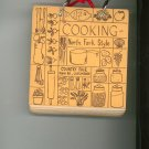 Cooking North Fork Style Cookbook Regional Church Country Fair Vintage