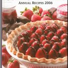 Taste Of Home Contest Winning Annual Recipes 2006  Cookbook 0898214998