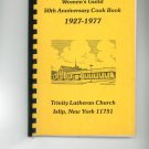 Womens Guild 50th Anniversary Cook Book Cookbook Vintage Regional New York Church
