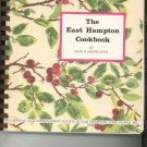 The East Hampton Cookbook 80th by Ladies Village Improvenment Society Regional New York Vintage