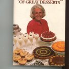Maida Heatters New Book Of Great Desserts Cookbook 0394519604