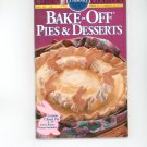 Pillsbury Bake Off Pies & Desserts Cookbook # 146