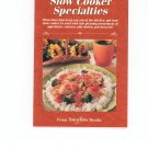 Slow Cooker Specialties Cookbook from Taste Of Home