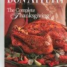 Bon Appetit Magazine November 1998 The Complete Thanksgiving