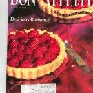 Bon Appetit Magazine February 1992 Delicious Romance