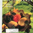 Bon Appetit Magazine August 1992 Summer Getaways