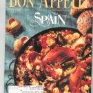 Bon Appetit Magazine May 1992 Spain