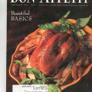 Bon Appetit Magazine September 1992 Beautiful Basics