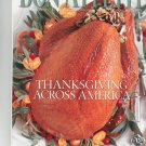 Bon Appetit Magazine November 2000 Thanksgiving Across America