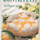 Bon Appetit Magazine April 1995 An Elegant Spring