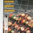 Bon Appetit Magazine June 1986 Sizzling Creative Delicious