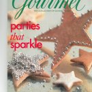 Gourmet Magazine December 2000  The Magazine Of Good Living Parties That Sparkle