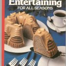 Entertaining For All Seasons Cookbook By Sunset 037602142x