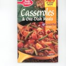 Betty Crocker Casseroles & One-Dish Meals Cookbook # 142