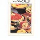 Recipe Favorites From McCalls Cookbook