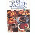 Fall Baking Favorites Cookbook Duncan Hines Crisco Jif