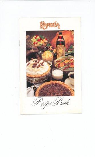 Kahula Recipe Book Cookbook