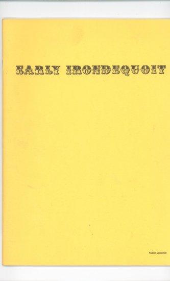 Early Irondequoit Photo Album by Walter Sassaman Regional New York