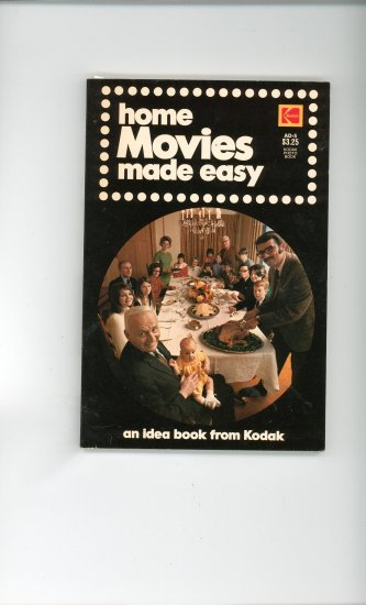 Kodak Home Movies Made Easy AD 5 Vintage