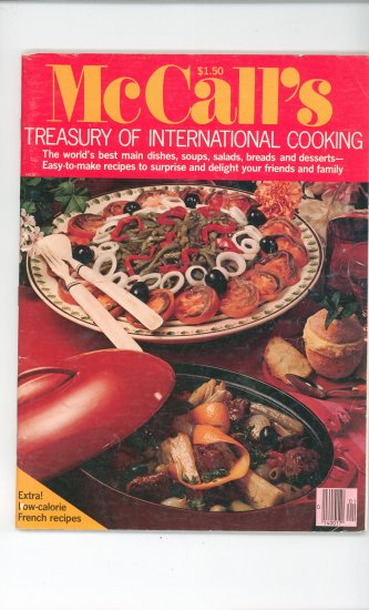 McCalls Treasury Of International Cooking Magazine Vintage