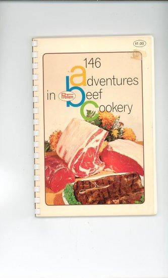 146 Adventures In Proten Beef Cookery Cookbook Vintage