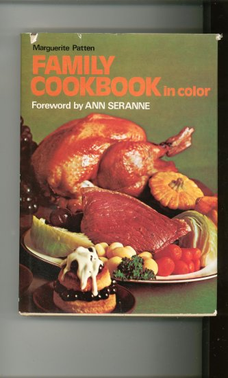 Family Cookbook In Color by Marhuerite Patten 0600335410