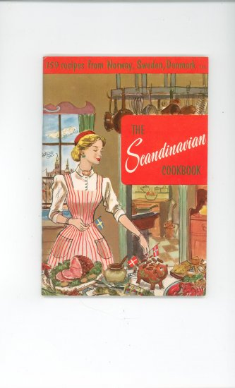 The Scandinavian Cookbook # 113 by Culinary Arts Institute Vintage Item