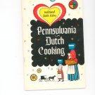 Pennsylvania Dutch Cooking Cookbook Vintage