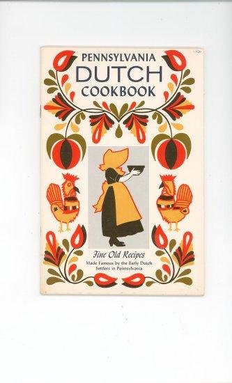Pennsylvania Dutch Cookbook Vintage